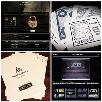 Play at home escape rooms by CU Adventures!
